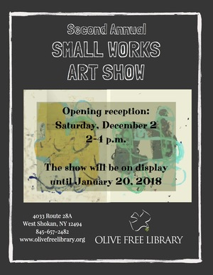 Olive Free Library Small Works Show